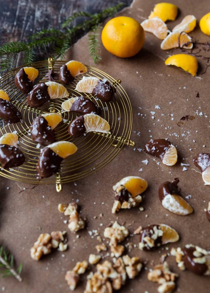 chokladdoppade clementiner