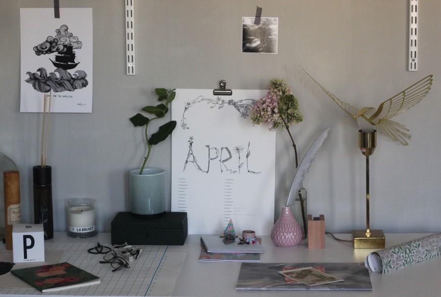 skrivbordsplats