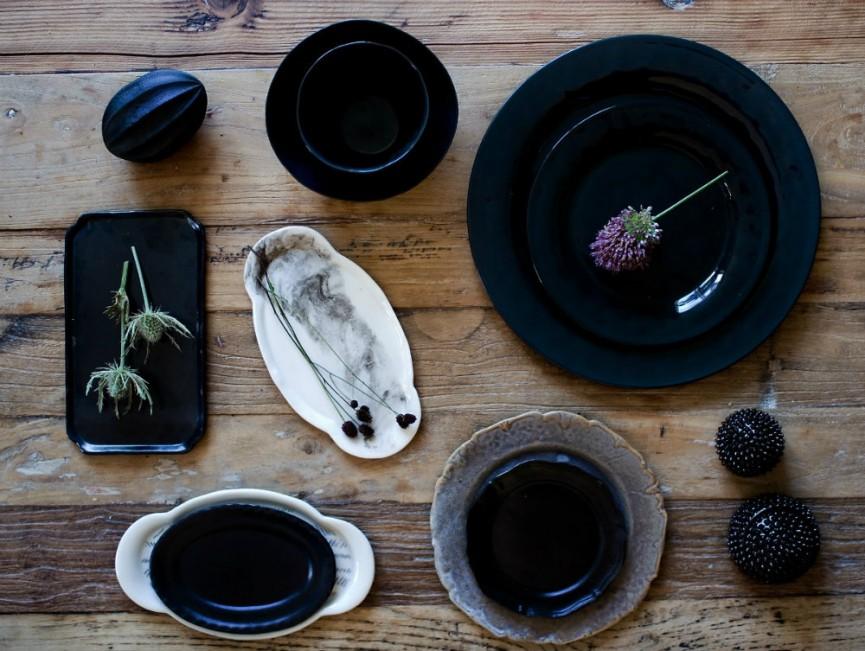 Keramik- blackandwhite