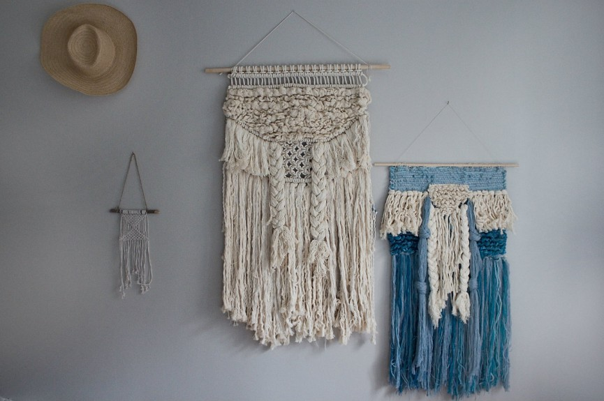 frosta wallhanging white+blue