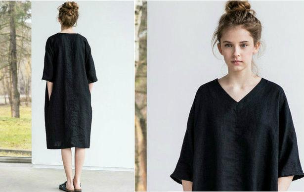 Kimonos Svart