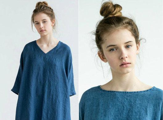 Kimonos blå