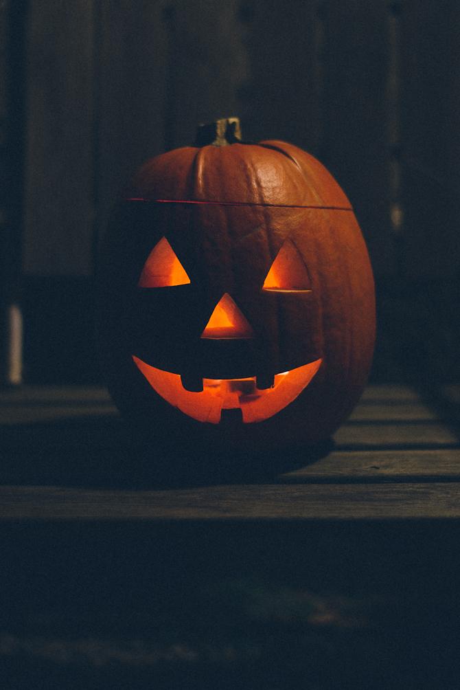 Halloween pumpkin by Babes in Boyland