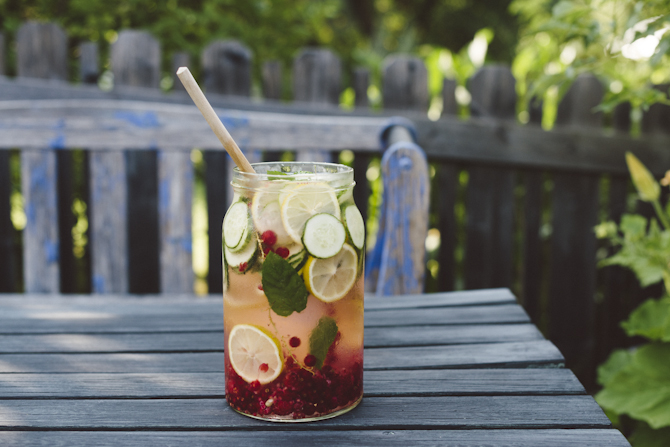 Infused water by Babes in Boyland