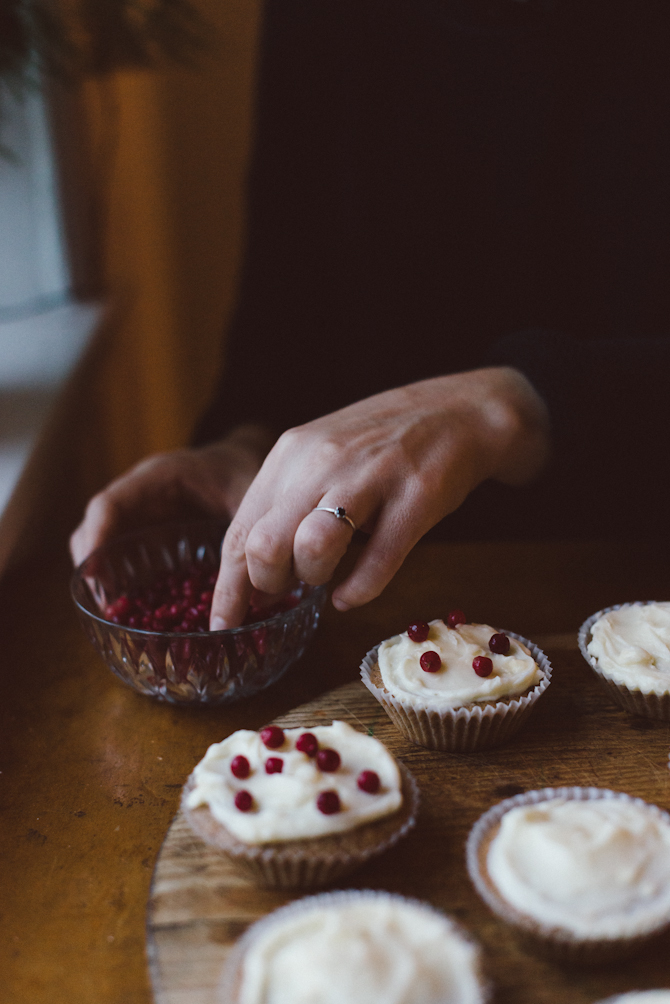 Winter cupcakes by Babes in Boyland