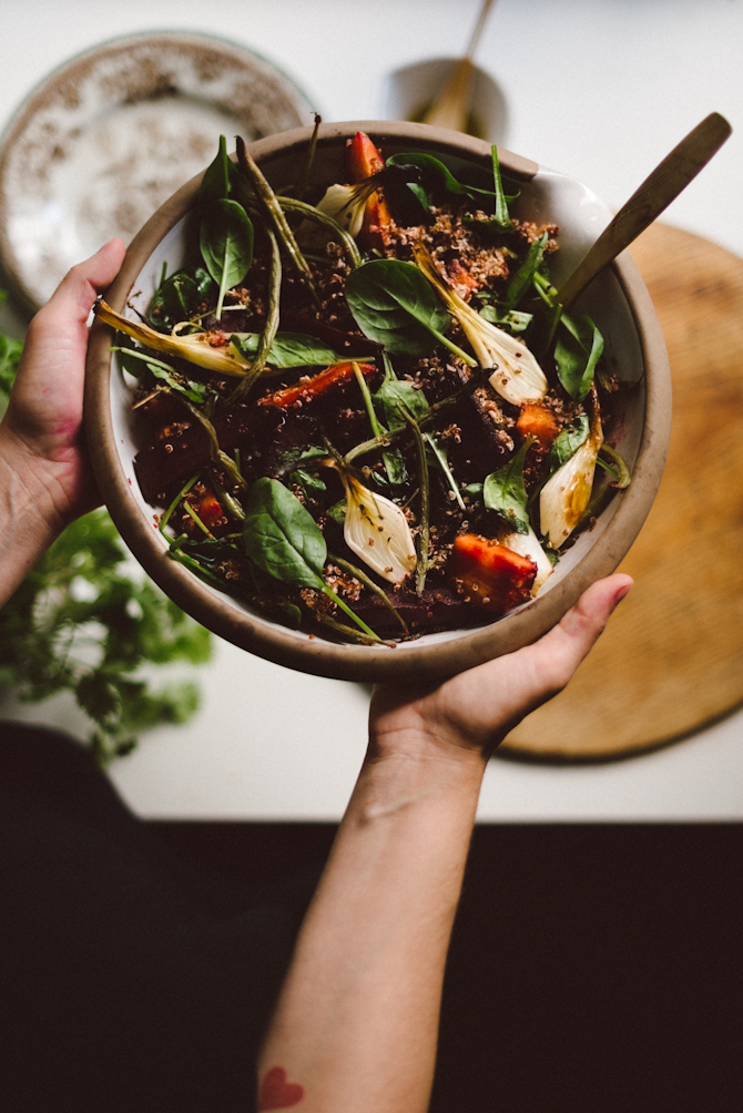 Quinoa salad by Babes in Boyland
