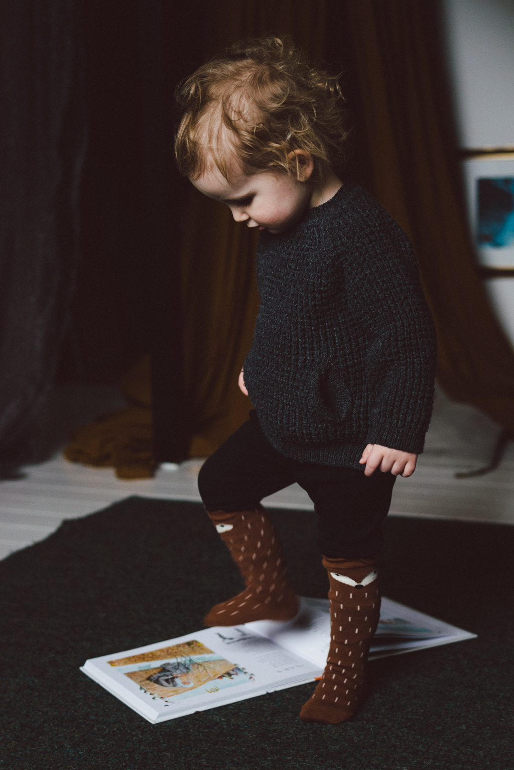 Algot and the bear socks by Babes in Boyland