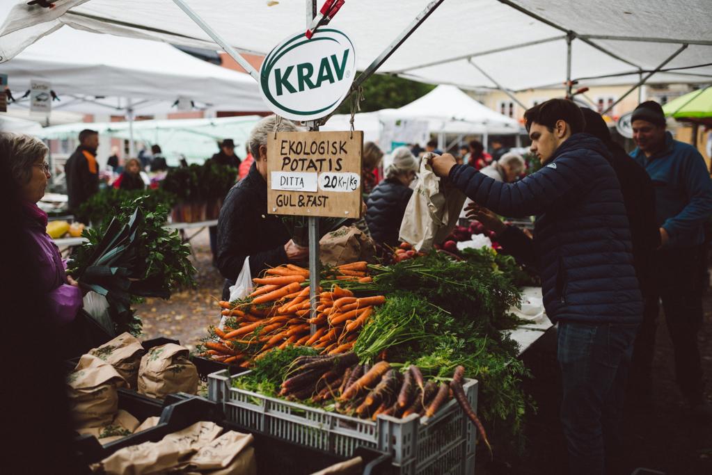 Farmer's market by Babes in Boyland