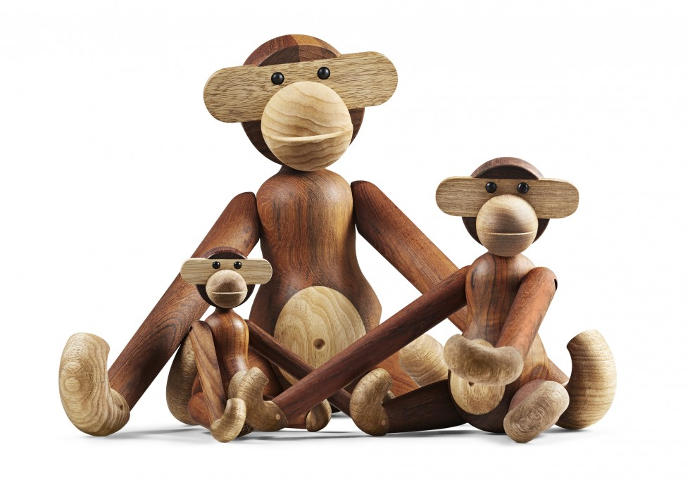 Kay Bojesen_Monkey_All Three