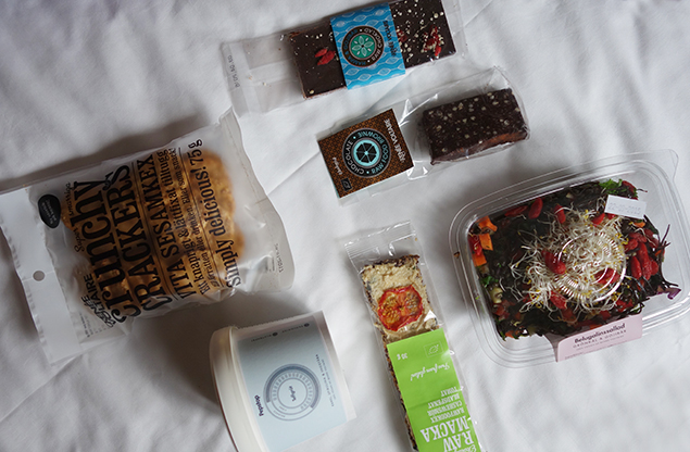 raw snacks