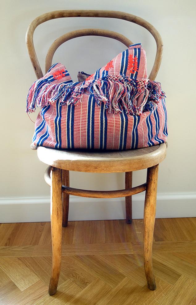 stol väska strand sol