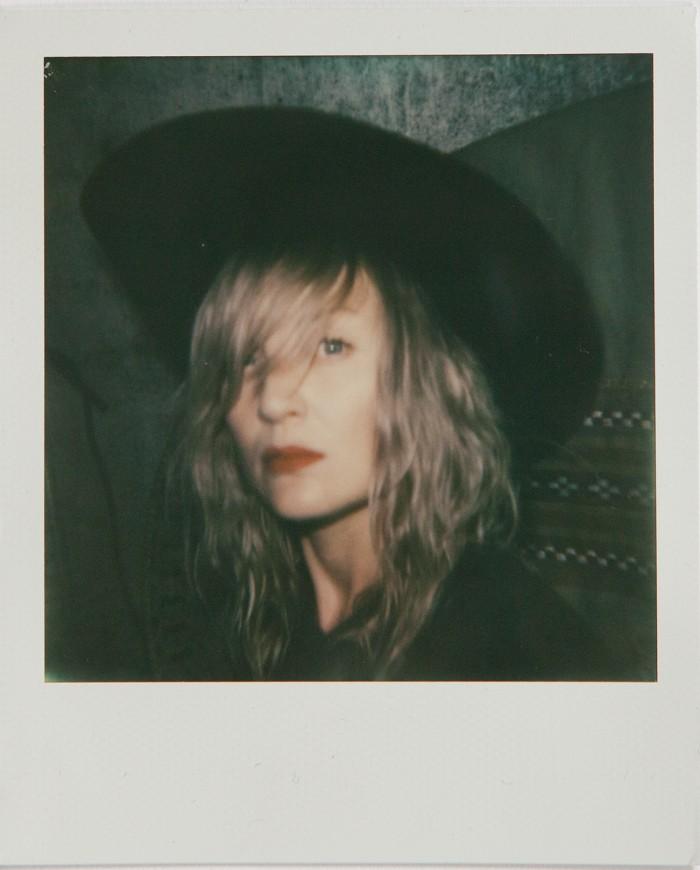 selfportrait  Polaroid © Anna  Malmberg