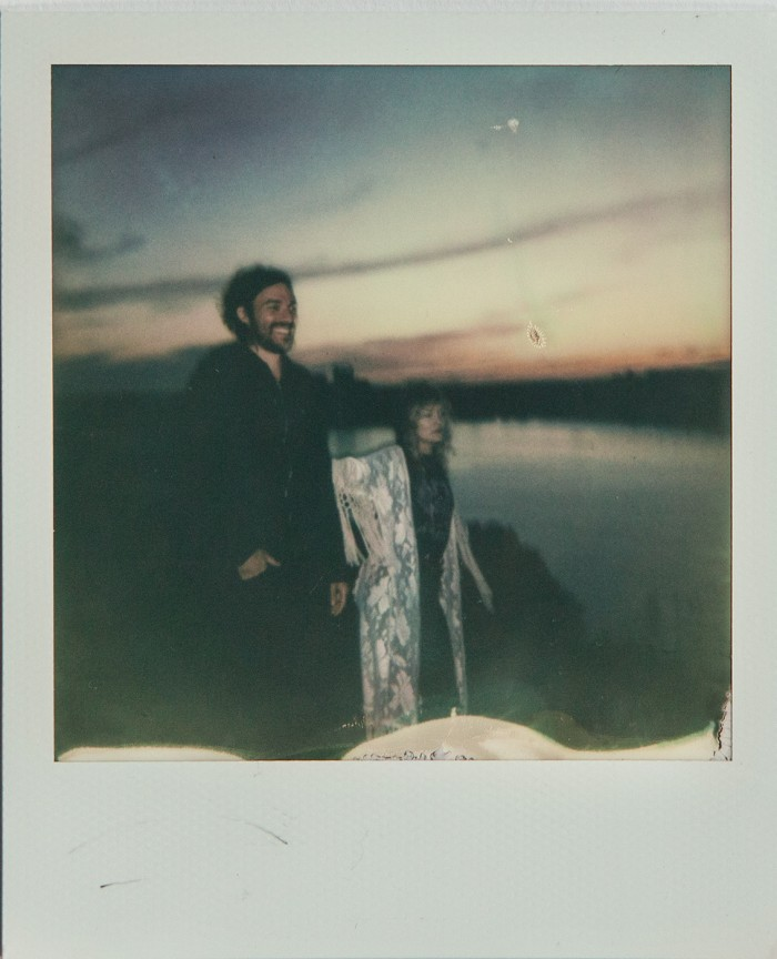 Joncha and Anna  Polaroid © Anna  Malmberg