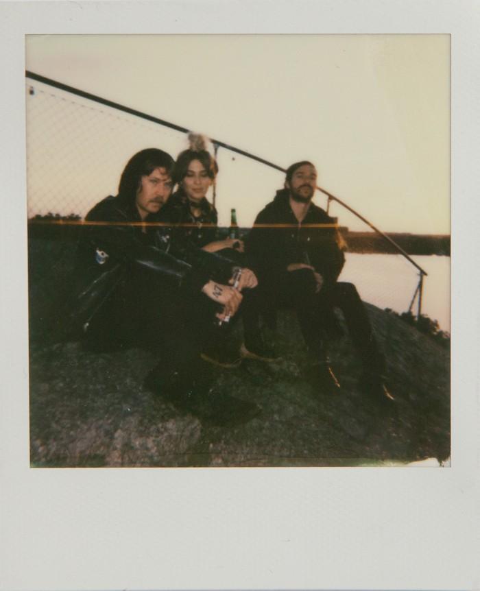 Topi, Marina and Joncha  Polaroid © Anna  Malmberg