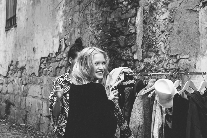 Mes Demoiselles behind the scenes © Anna  Malmberg