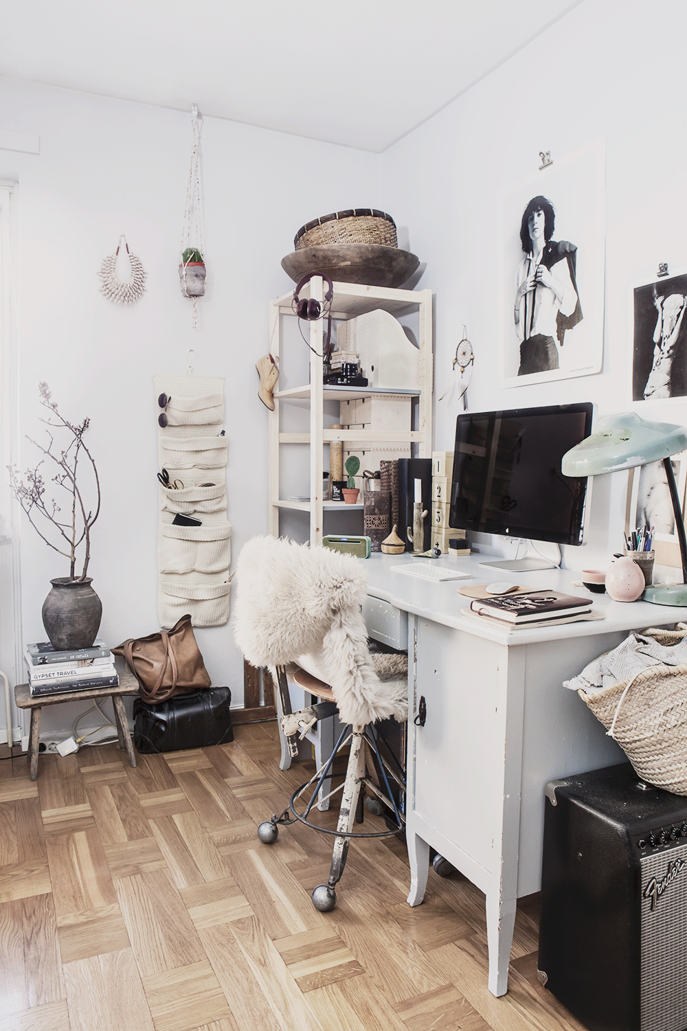 My working space ©Anna Malmberg