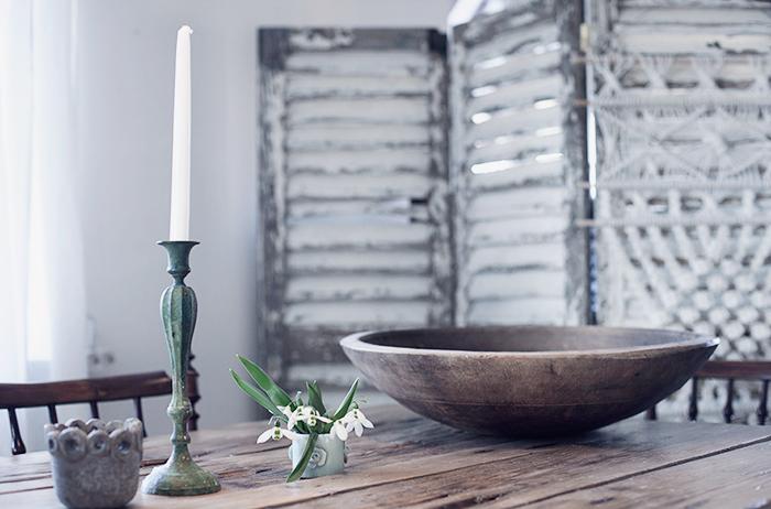 Rustikt bord © Anna  Malmberg