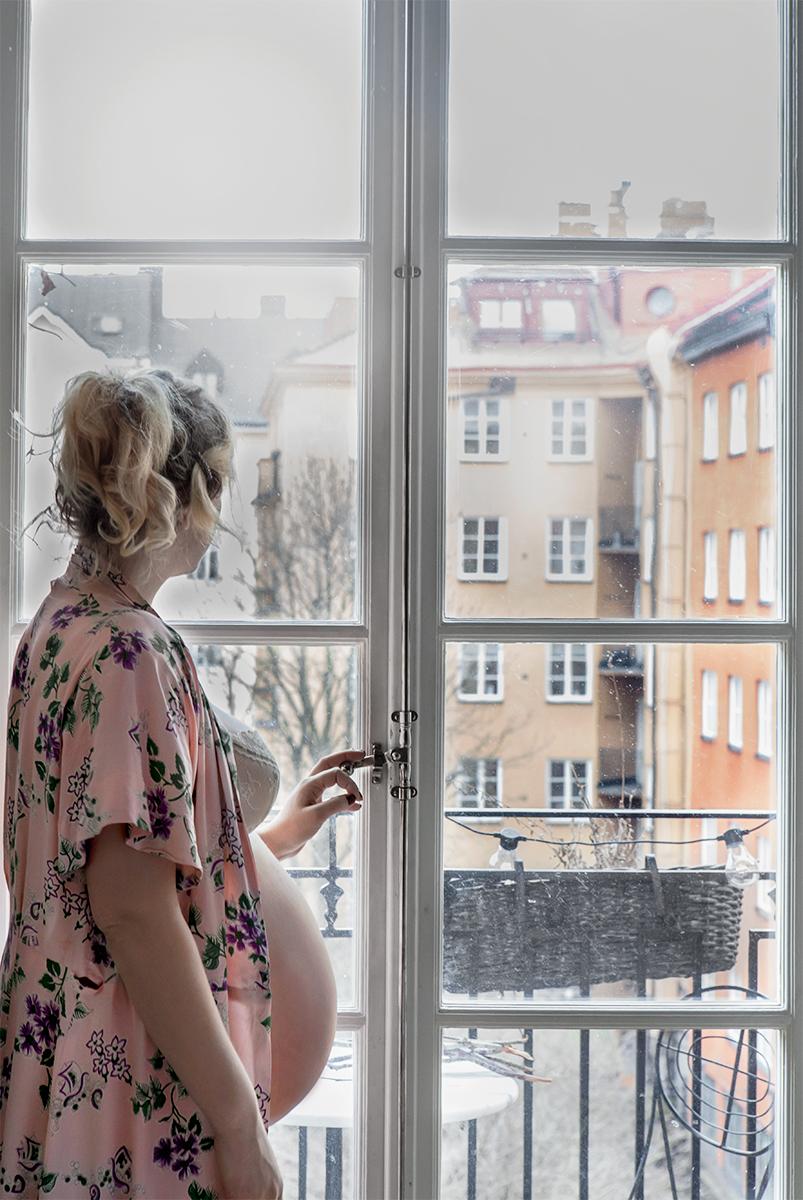 Elsa Billgren gravid, Anna Malmberg 18