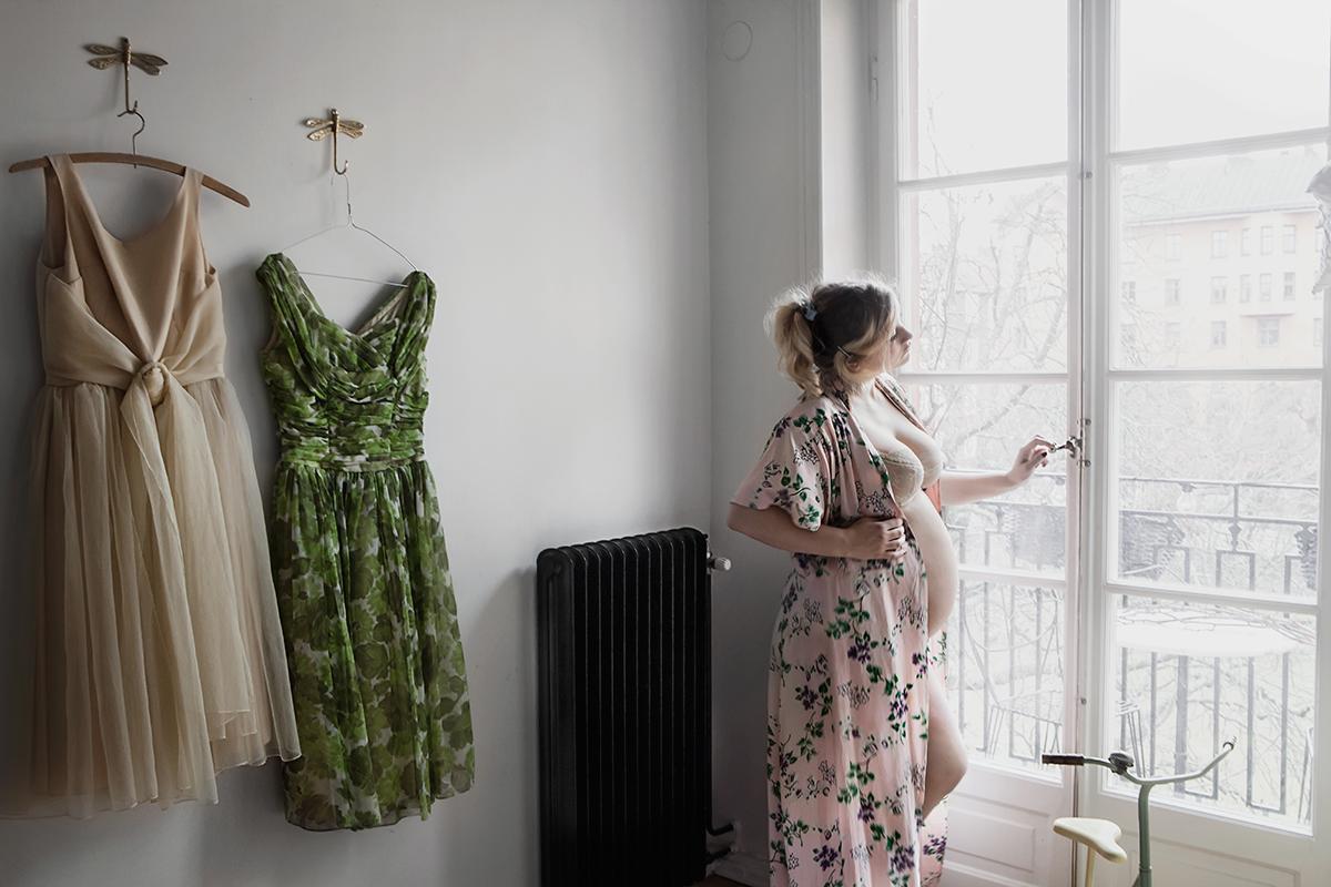 Elsa Billgren gravid, Anna Malmberg 19