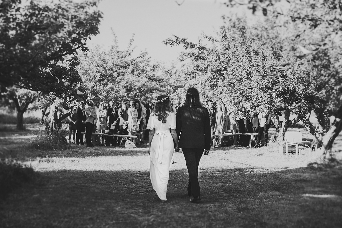 Anton's and Maria's bohemian wedding photo: Anna Malmberg n°68