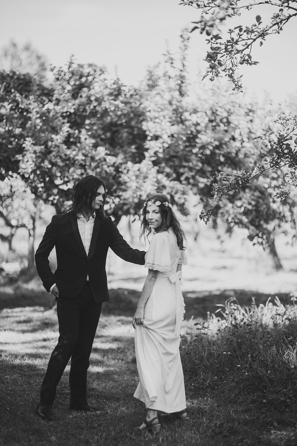 Anton's and Maria's bohemian wedding photo: Anna Malmberg n°101
