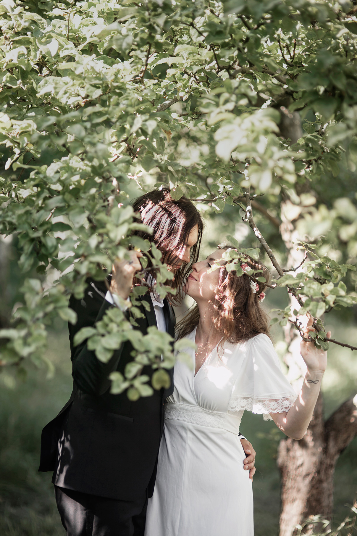 Anton's and Maria's bohemian wedding photo: Anna Malmberg n°103