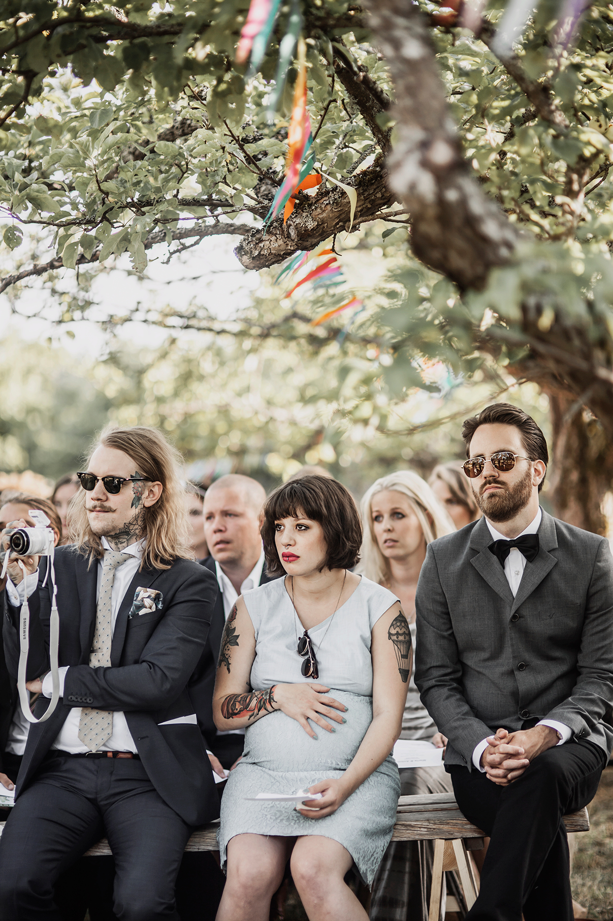 Anton's and Maria's bohemian wedding photo: Anna Malmberg n°80