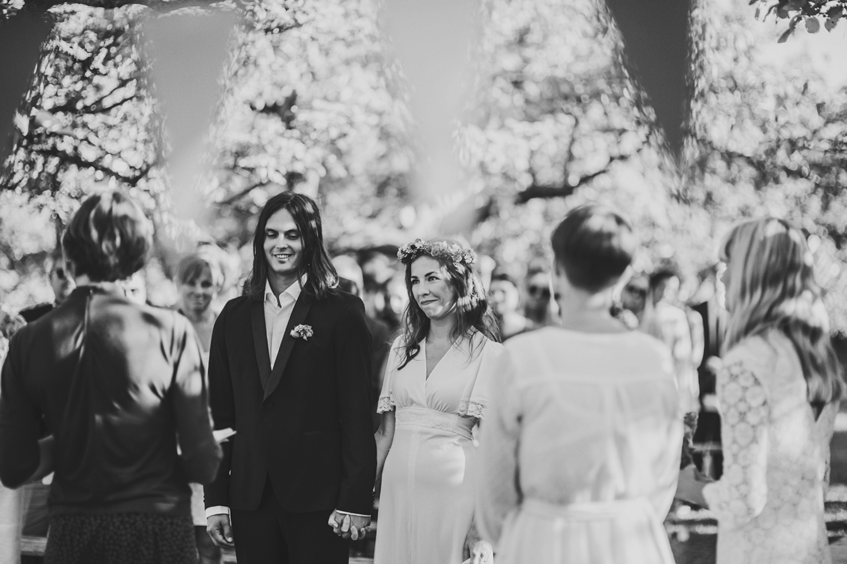Anton's and Maria's bohemian wedding photo: Anna Malmberg n°81