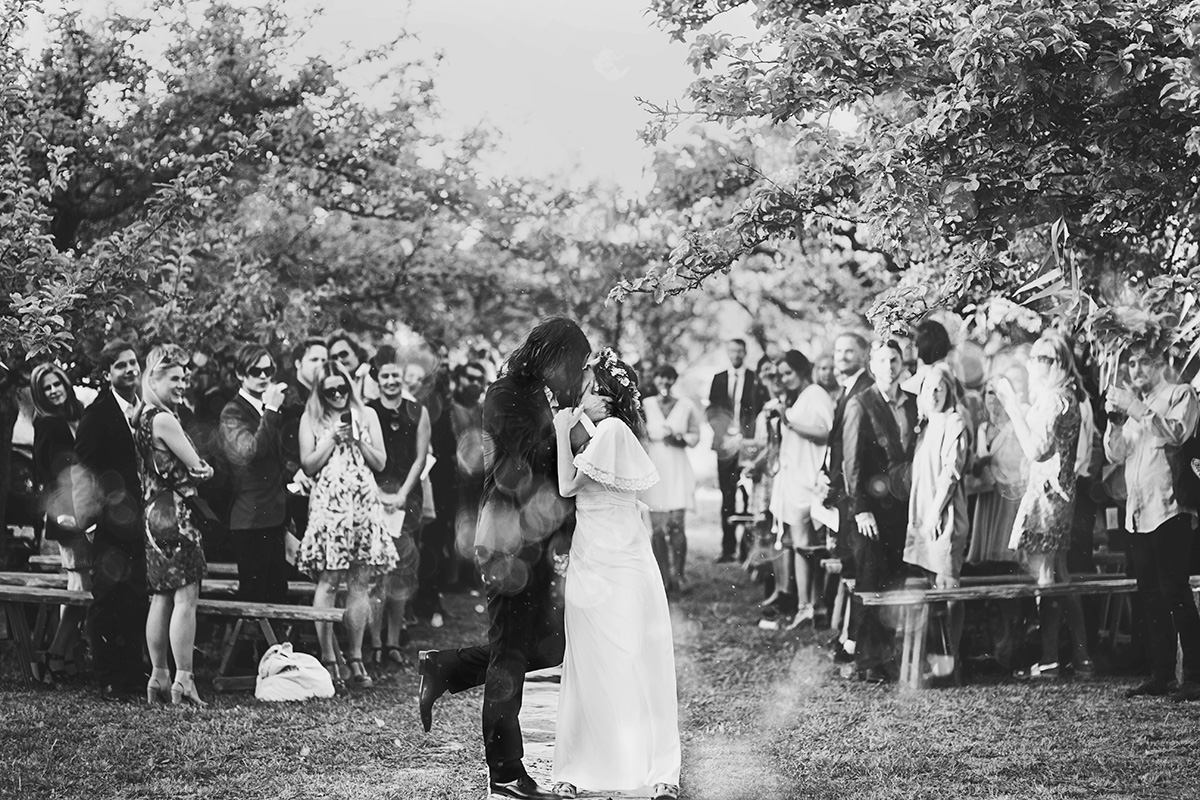 Anton's and Maria's bohemian wedding photo: Anna Malmberg n°92