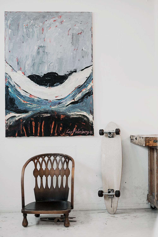 Lars Malmberg painting copyright 2016 Anna Malmberg