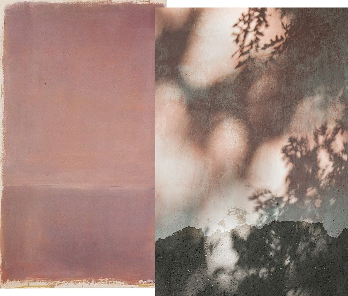 Pink wall Mark Rothko, Anna Malmberg photo