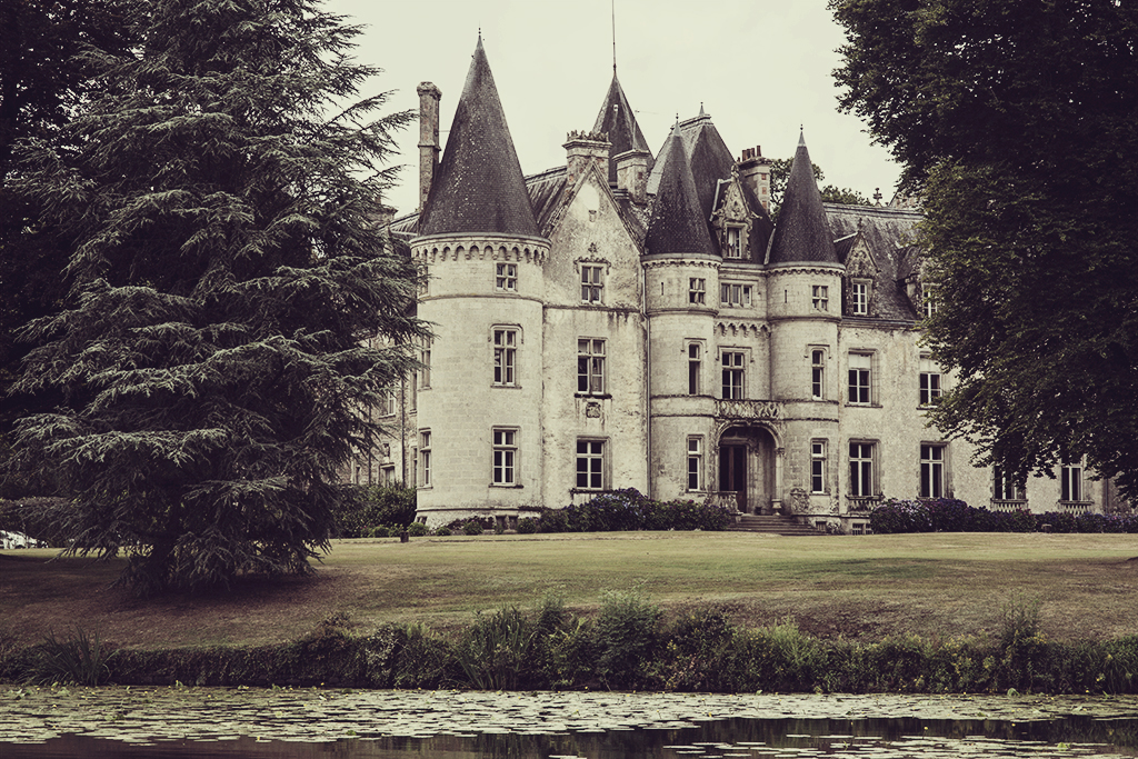 Castle in France copyright 2017 Anna Malmberg