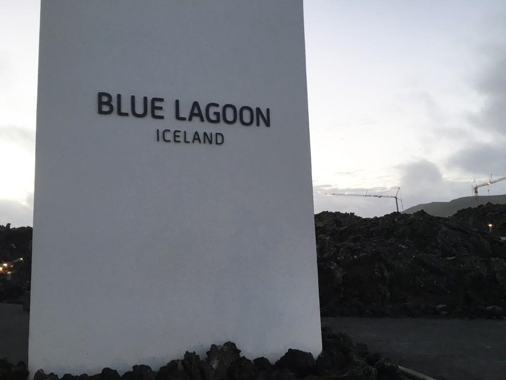 BLUE LAGOONsign