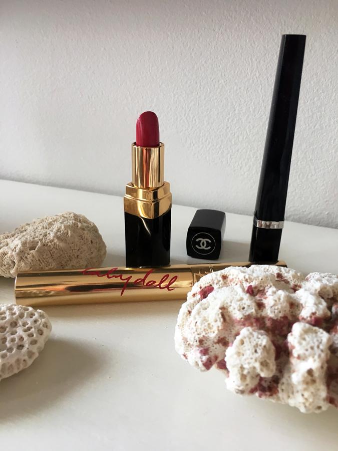 BeautyTalks-corals + lipstick