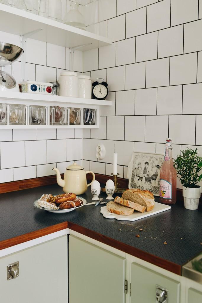 green kitchen