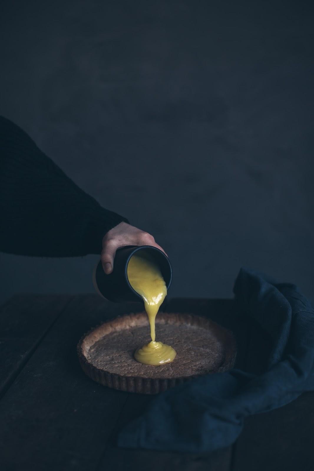 lemon tart cake